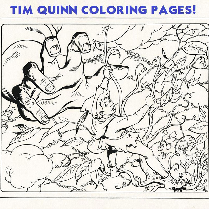 Better Times Will Come Coloring Pages - Tim Quinn
