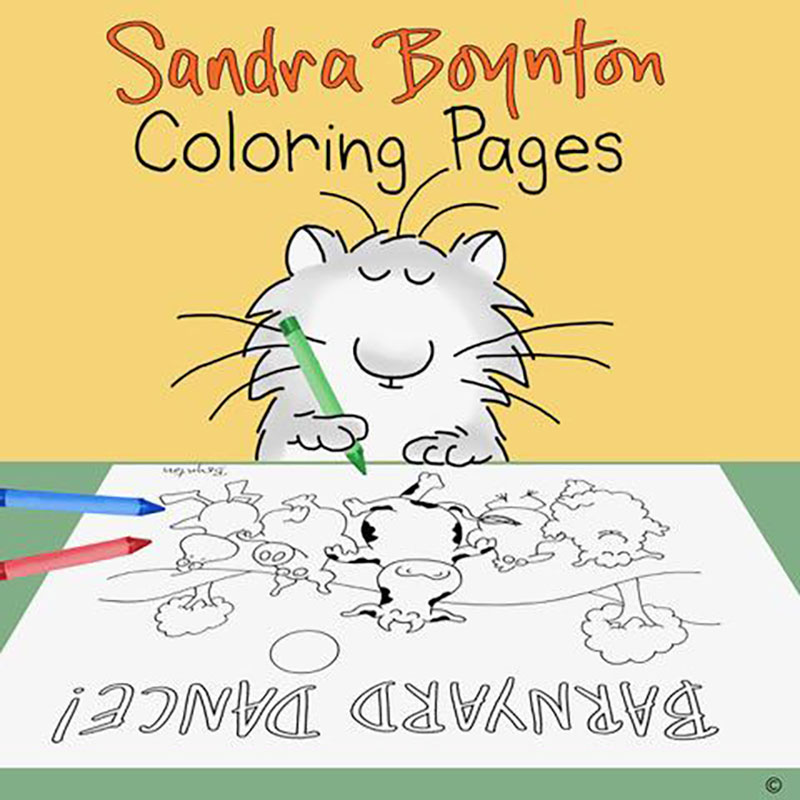 Better Times Will Come Coloring Pages - Sandra Boynton