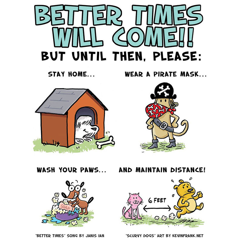 Better Times Will Come Coloring Pages - Kevin Frank