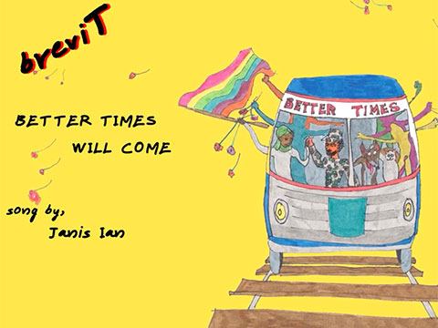 Better Times Will Come by Janis Ian - video by BreviT