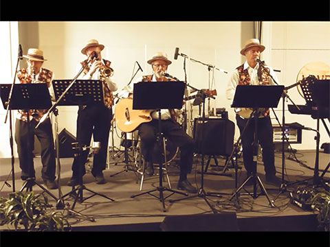 Better Times Will Come by Janis Ian video by Whitianga Dixieland Band