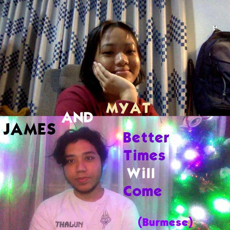Better Times Will Come by Janis Ian Performed by James and Myat
