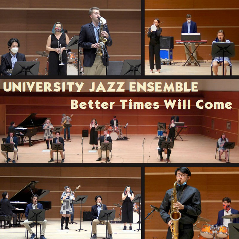 Better Times Will Come by Janis Ian Performed by University Jazz Ensemble